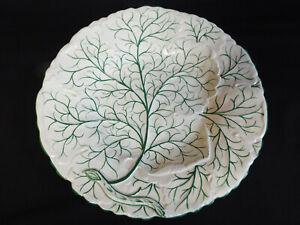 Antique Charles Meigh leaf moulded dessert plate,c1835-61
