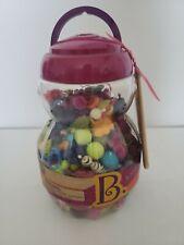 B. Toys Pop Arty Kids Jewelry Snap Beads Kit Bracelet Necklace Aprox 500 Pieces