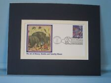 Walt Disney's Dumbo and the First Day Cover of his own Stamp