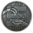 Third Reich German 10 Shillings Winter Aid Exonumia Coin Buy 3 Get 1 Free
