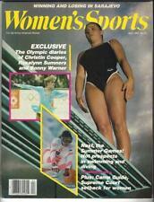 Women's Sports Magazine Apr.1984 Tracy Caulkins, Rosalyn Sumners, Sarajevo