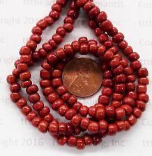 Antique Venetian Otter Brown Pony  Trade Beads    # V 224 regalia Trading Post