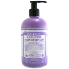 Dr Bronner's Organic Shikakai Lavender Pump Soap - Choice of Size - One Supplied