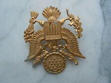 Insigne de casquette d'officier US devise E pluribus unum