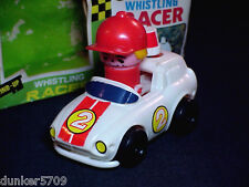 ONE PREOWNED WINDUP TOY WHISTLING RACER IN ORIGINAL BOX  NO. RT1003W WORKING