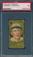 1911 T205 Thomas J Needham Sweet Caporal PSA 1 *OBGcards*