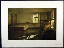 Andrew Wyeth Gravure Print HENRY TEEL, Teel's Island