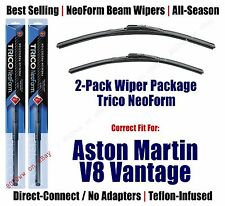 2pk Premium NeoForm Wipers fit 2006-2011 Aston Martin V8 Vantage - 16240/200