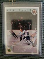1992-93 Ultimate Hockey Co. TORONTO TRIBUTE Ron Ellis Toronto Maple Leafs #34