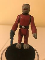 VINTAGE STAR WARS 1978 SNAGGLETOOTH (RED) W/FACTORY DEFECT HAND & REPRO DL-44