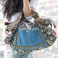 Hobo Satchel Fashion Bag Tote Messenger PU Leather Purse Shoulder Handbag Women