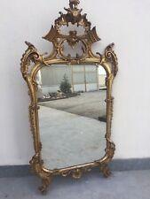 Specchiera Dorata Fine 800