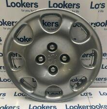 Genuine Peugeot 15'' Quartz Style Silver Wheel Trim 306 406 806 Partner 5416A7