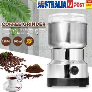 220V Electric Coffee Grinder Grinding Milling Bean Nut Spice Matte Blender Cup