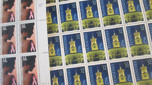 US Discount Postage 210x 32c stamps in 5x sheets MNH Face $67.20
