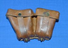 WW2 Original Leather POUCH for MOSIN NAGANT Ammo Belt CASE