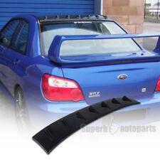 For 2002-2007 Subaru Impreza WRX Vortex Generator Roof Wing Spoiler Glossy Black