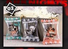Arknights SilverAsh Nightingale Croissant Amiya Acrylic Candy Keychain Official