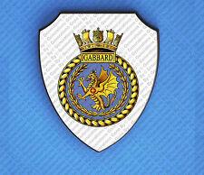 HMS GABBARD WALL SHIELD