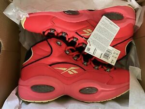Reebok Hot Ones Question Mid Iverson Men's Shoes Size 11