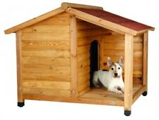 Trixie natura Hundehütte Lodge mit Satteldach S: 100 × 82 × 90 cm natur