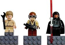 NiB Lego STAR WARS Minifig Darth Maul Child Anakin Skywalker Naboo Pilot set