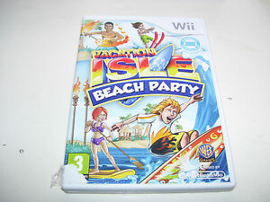 Vacation Isle Beach Party * NINTENDO WII PAL GAME  *
