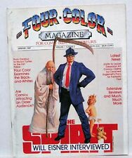 1987 FOUR COLOR Magazine # 2 Will Eisner Interview