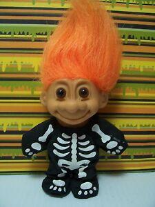 "HALLOWEEN SKELETON - 5"" Russ Troll Doll - NEW IN ORIGINAL WRAPPER - Rare"