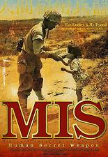MIS - Human Secret Weapon - DVD (2012) Military Intelligence Service