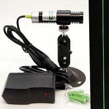 532nm 50mW Green Laser LINE Module for Locator/Cutting Machine w/ adpter&mount
