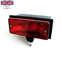 RED ALOGENA Posteriore Nebbia Tail Luce 12 / 24V AUTO CAMPER VAN E-MARKED ce-approved