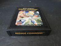 1981 ATARI MISSILE COMMAND GAME CARTRIDGE #2638 USE WITH JOYSTICK  - K