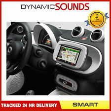 "Alpine Smart Forfour DAB Bluetooth CarPlay Android 7"" Screen & White Fitting Kit"