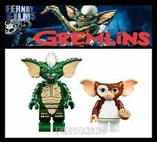GREMLINS - GIZMO & SPIKE - 80s MOVIE FIGURE - fits lego figures (R6 - R7)