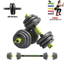 20Kg ***3 in 1*** Dumbbells Free Weight Dumbbell Set Adjustable dumbbell/barbel