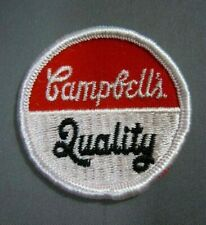 """Vintage Campbell's- Quality (Soup)  Embroidered Sew-On Patch 2"""""""