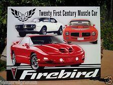 PONTIAC FIREBIRD TRIBUTE Collectible Tin Metal Classic Sign Poster Garage Shop