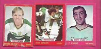 1973-74 OPC MINNESOTA NORTH STARS   CARD LOT  (INV# J0163)