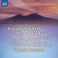 Franco Alfano : Franco Alfano: Piano Works CD (2017) ***NEW*** Amazing Value