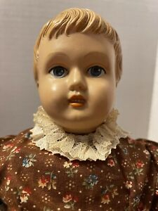 """15"""" Celluloid Head Marks Brothers Of Boston USA Doll"""