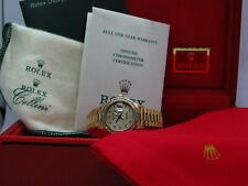 ROLEX PRESIDENT 69178 LADIES 26MM YELLOW GOLD WATCH FACTORY JUBILEE SERTI DIAL