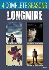 Longmire: Seasons 1-4 (DVD, 2018) Brand New