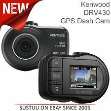 Kenwood DRV430 GPS Dash Camera│Full HD Incident Video Recording│3-Axis G-Sensor