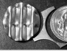 ERROR Waffled Washington Quarter Blank +SCRAP WEB Pc .25 Waffle Planchet Coin NR