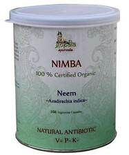Neem (Nimba) (USDA CERTIFIED ORGANIC) - 108VCaps Gopala Ayurveda