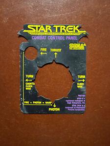 1983 Star Trek Strategic Operations Simulator Atari 2600 Joystick Cover