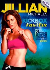 JILLIAN MICHAELS: KICKBOX FASTFIX NEW DVD
