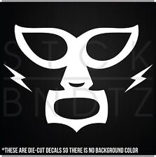 MEXICAN WRESTLER MASK BOAT FUNNY DECAL STICKER MACBOOK CAR WINDOW MOTORCYCLE