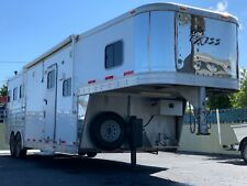 New Listing2013 Exiss 8310 Horse Trailer With Living Quarters, Awning